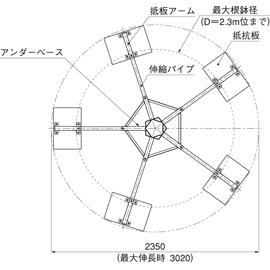 HOU-LL1 / アンダーサポート