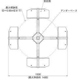 HOU-M1 / アンダーサポート