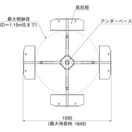 HOU-M2 / アンダーサポート