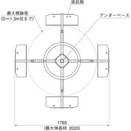 HOU-M3 / アンダーサポート