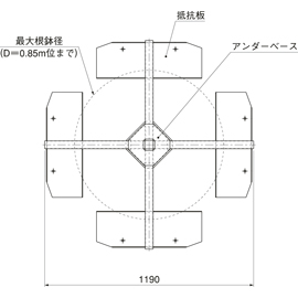 HOU-S3 / アンダーサポート