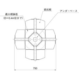 HOU-SS1 / アンダーサポート