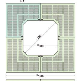TG-KK-1260FA / ルーツグレート(根囲い保護)