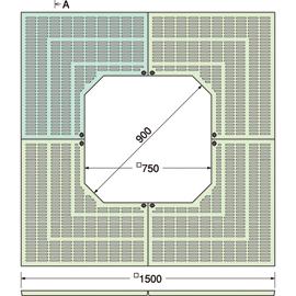 TG-KK-1575FA / ルーツグレート(根囲い保護)