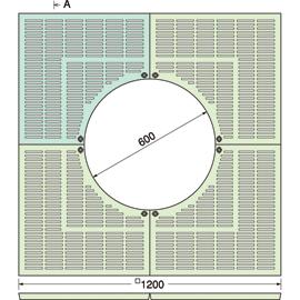 TG-KM-1260FA / ルーツグレート(根囲い保護)