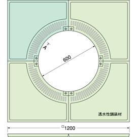 TG-KM-1260FDV / ルーツグレート(根囲い保護)