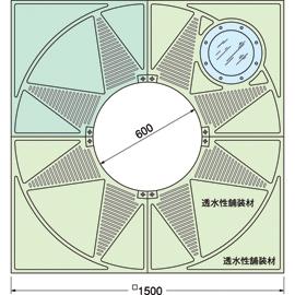 TG-KM-1560FAV-LG / ルーツグレート(根囲い保護)