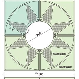 TG-KM-1560FAV / ルーツグレート(根囲い保護)