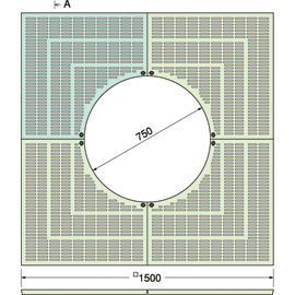 TG-KM-1575FA / ルーツグレート(根囲い保護)
