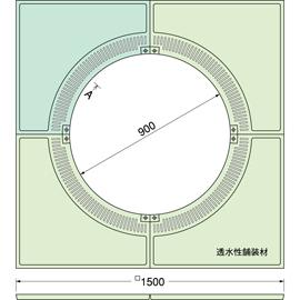 TG-KM-1590FDV / ルーツグレート(根囲い保護)