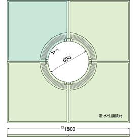TG-KM-1860FDV / ルーツグレート(根囲い保護)