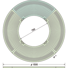 TG-M-1575FD / ルーツグレート(根囲い保護)