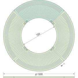 TG-M-1575FDG / ルーツグレート(根囲い保護)