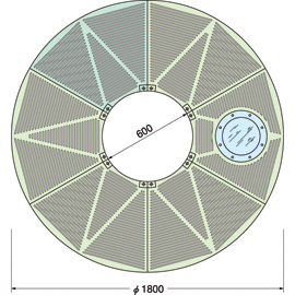 TG-M-1860FA-LG / ルーツグレート(根囲い保護)