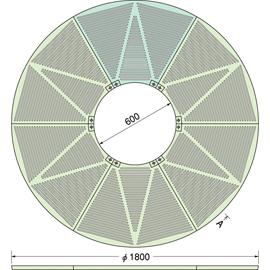 TG-M-1860FA / ルーツグレート(根囲い保護)