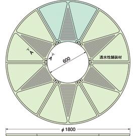 TG-M-1860FAV / ルーツグレート(根囲い保護)