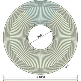 TG-M-1860FD / ルーツグレート(根囲い保護)