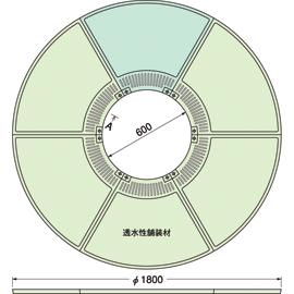 TG-M-1860FDV / ルーツグレート(根囲い保護)