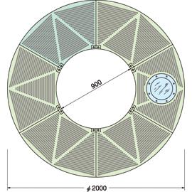 TG-M-2090FA-LG / ルーツグレート(根囲い保護)