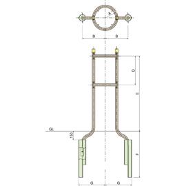 SW2-40 / 金属支柱