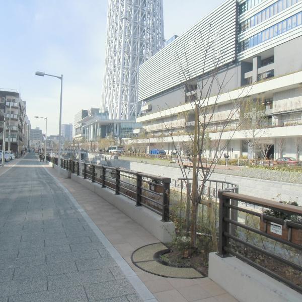 北十間川(東京スカイツリー前)