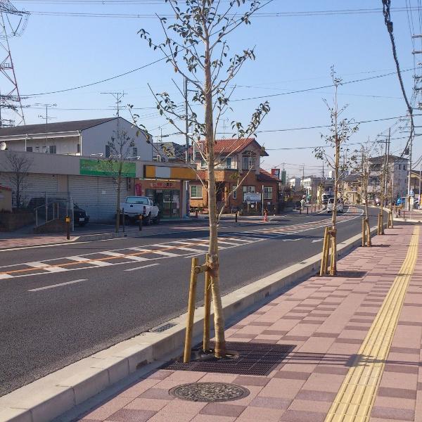 京田辺三山木駅前