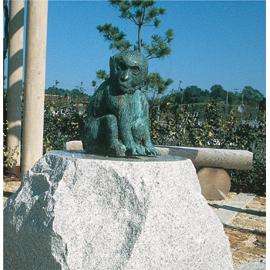 モニュメント 猿 / ornament