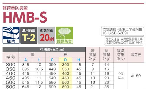HMB-S / 防臭蓋