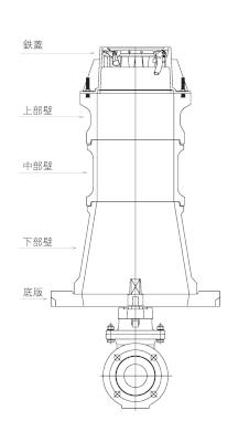 円形1号・円形2号用レジンコンクリート桝 / 上水道用製品
