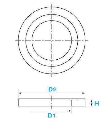 ねじ式弁筐A型用台座 / 上水道用製品